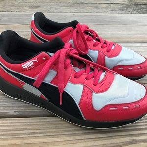 Puma Men Sneaker Puma RS-100 R System Red Gray 12
